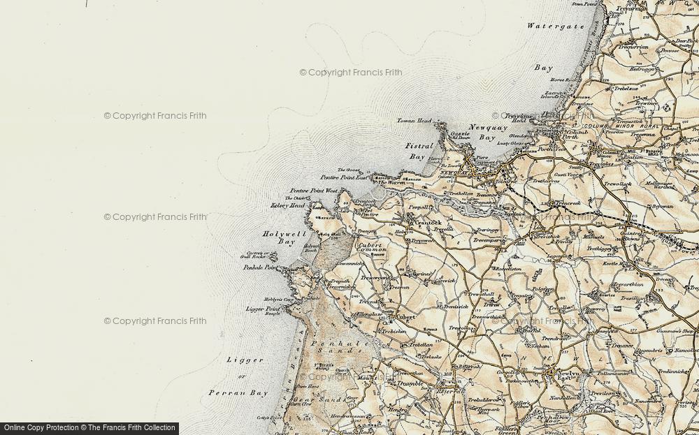 West Pentire, 1900