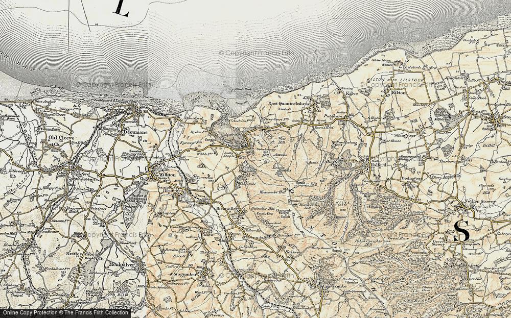 West Quantoxhead, 1898-1900
