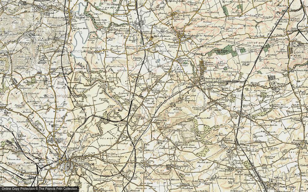 West Rainton, 1901-1904