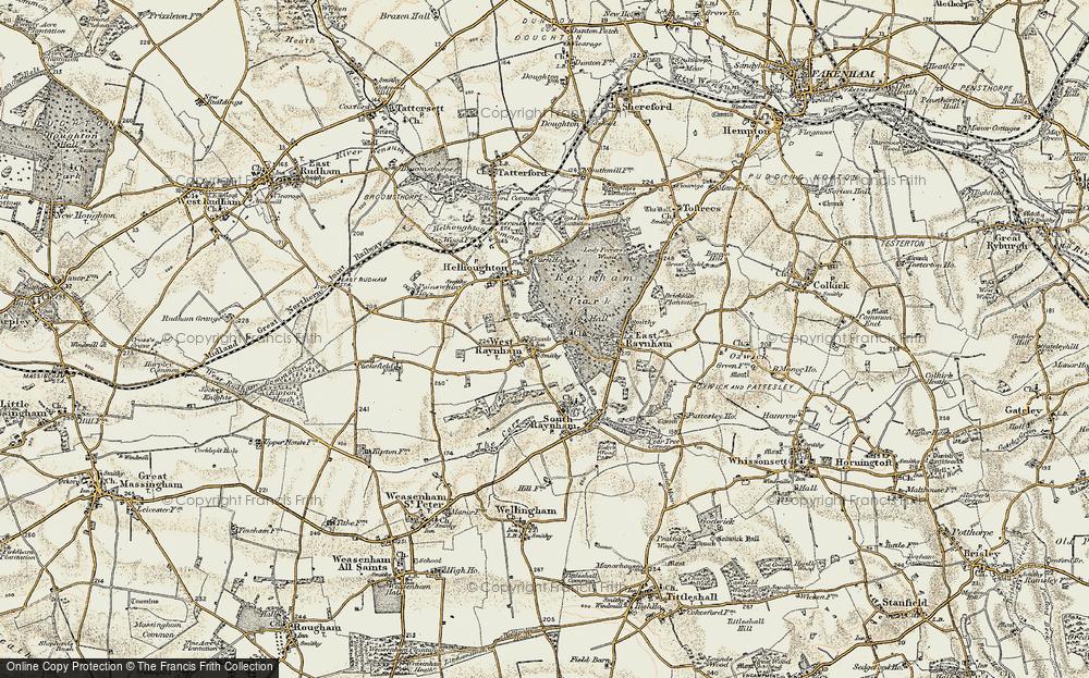 West Raynham, 1901-1902