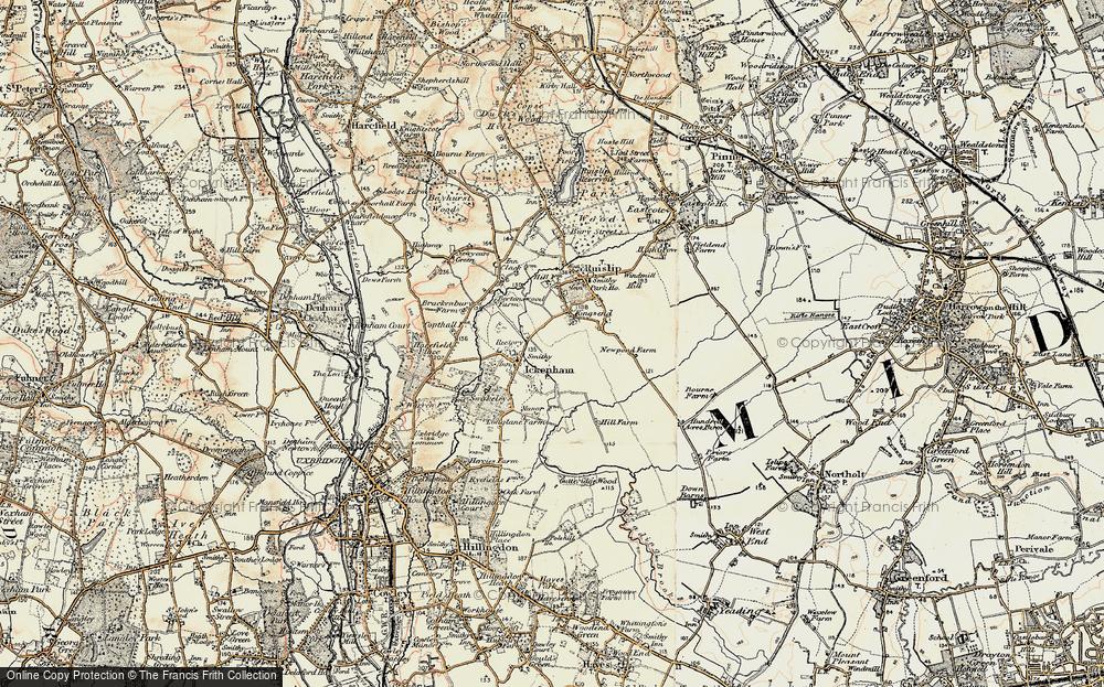 West Ruislip, 1897-1898
