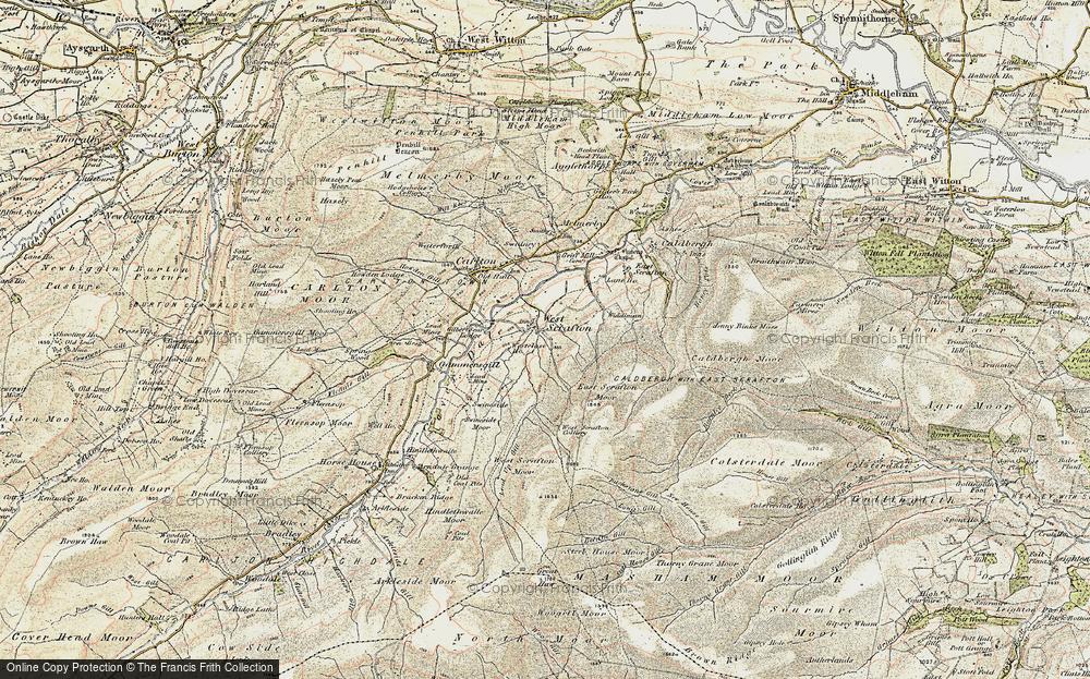 West Scrafton, 1903-1904