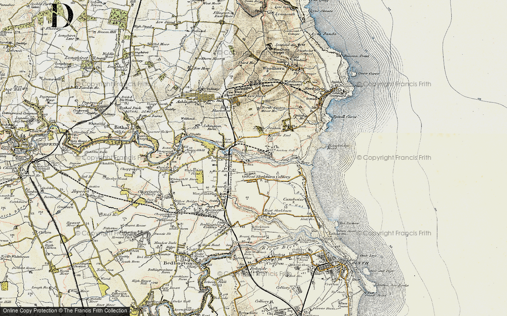 West Sleekburn, 1901-1903