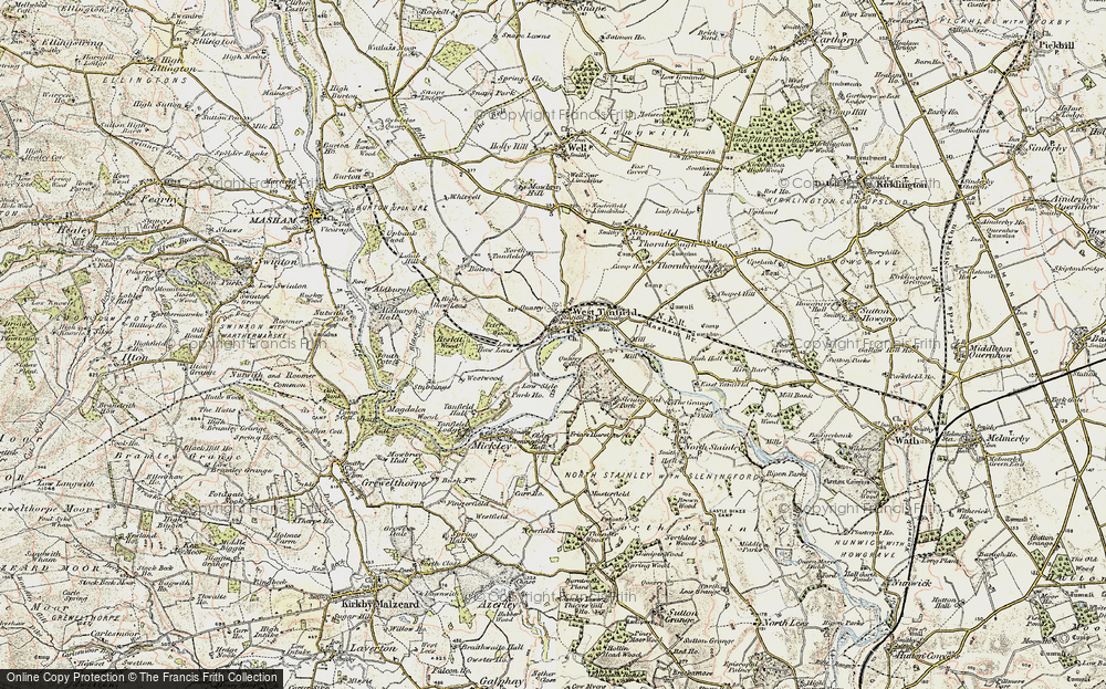 West Tanfield, 1903-1904