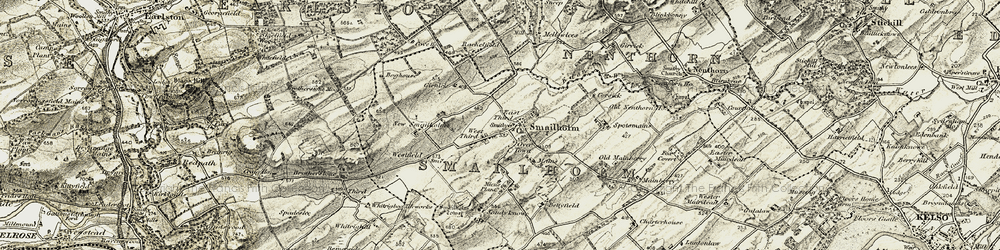 Old map of West Third in 1901-1904