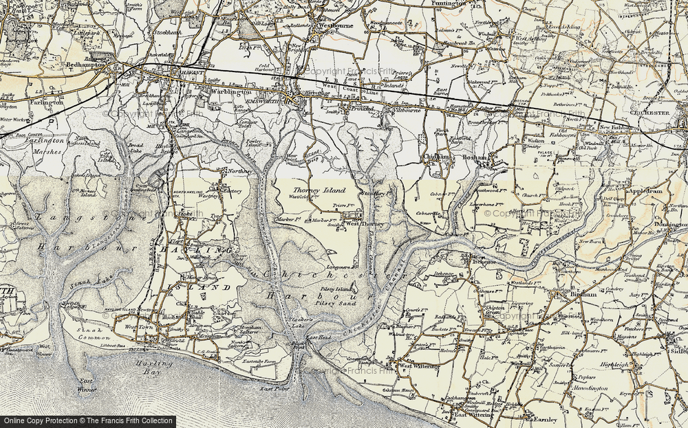 West Thorney, 1897-1899