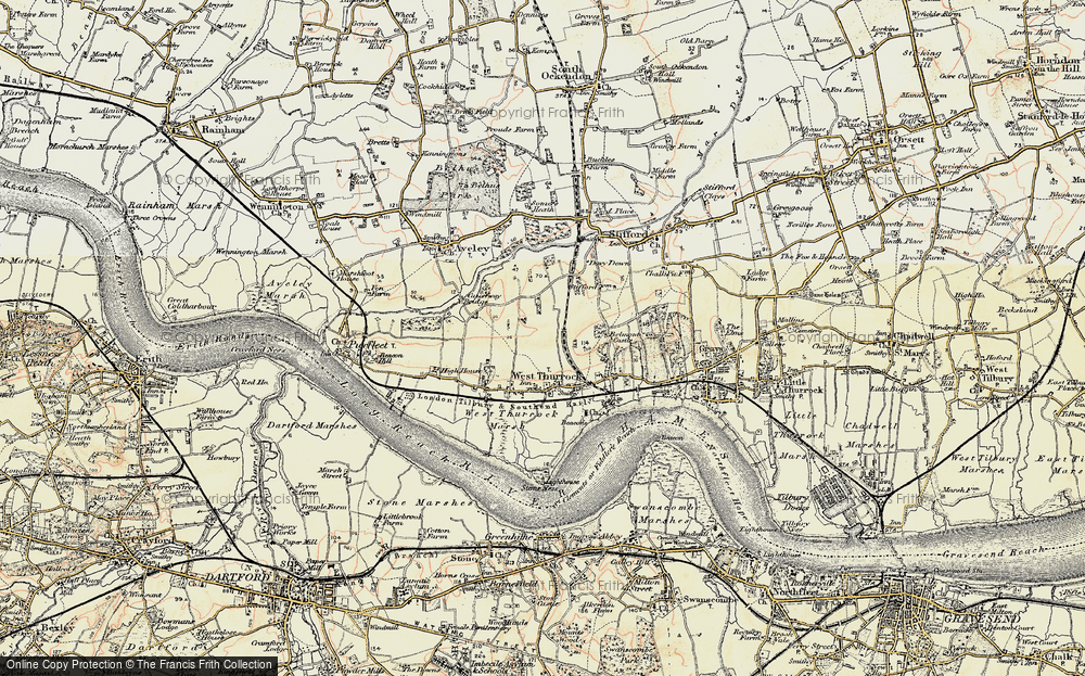 West Thurrock, 1897-1898
