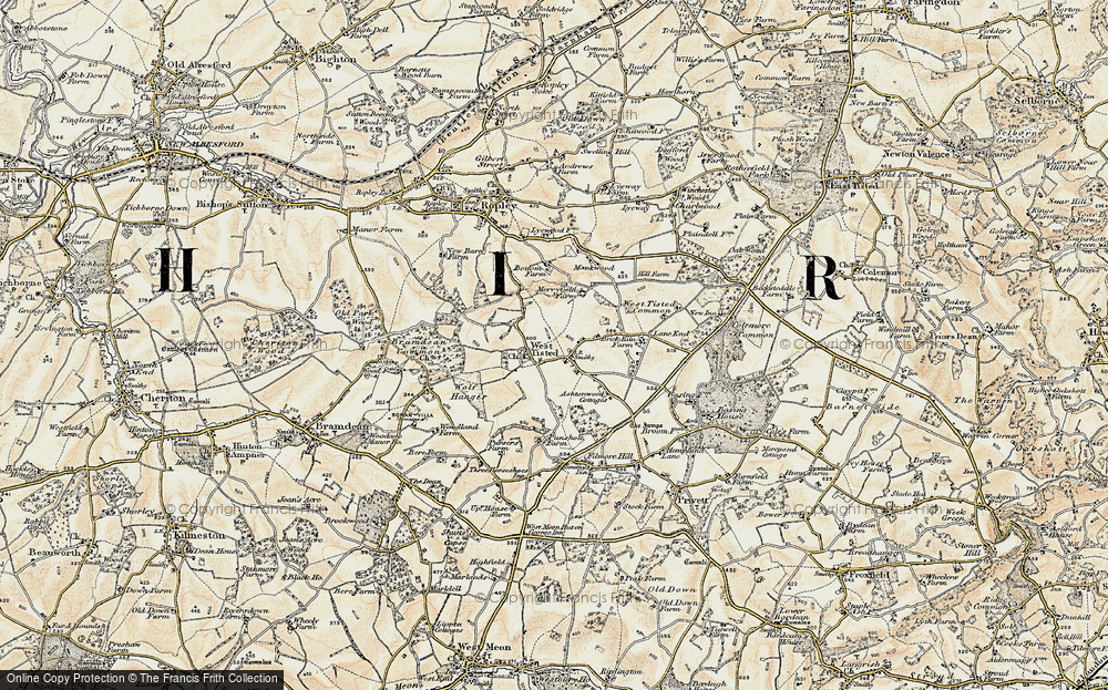 West Tisted, 1897-1900