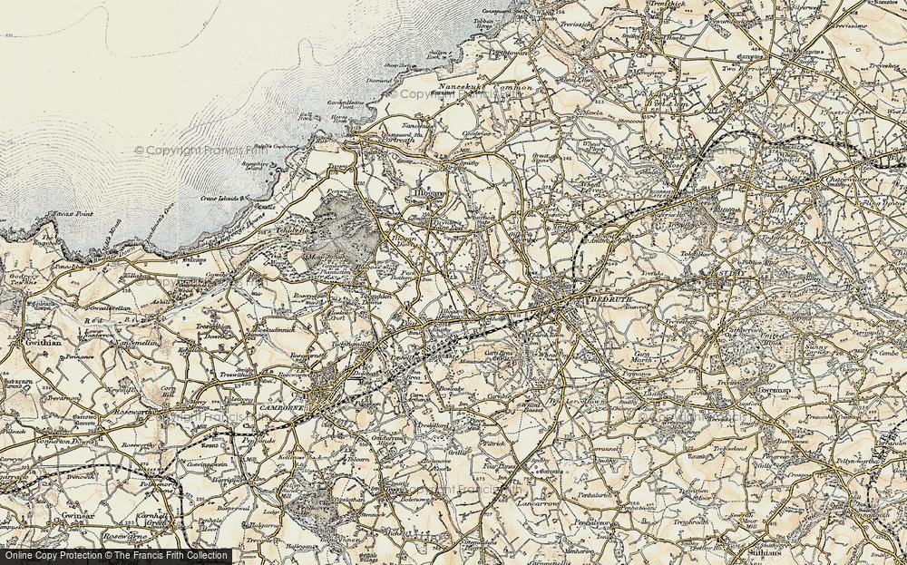West Tolgus, 1900