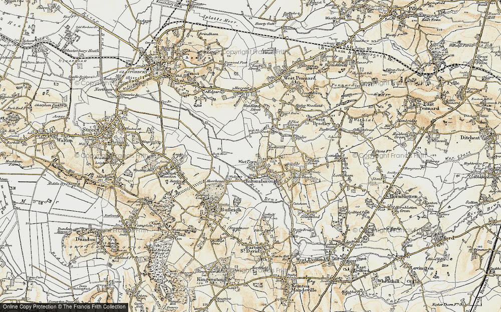 Old Map of West Town, 1899 in 1899