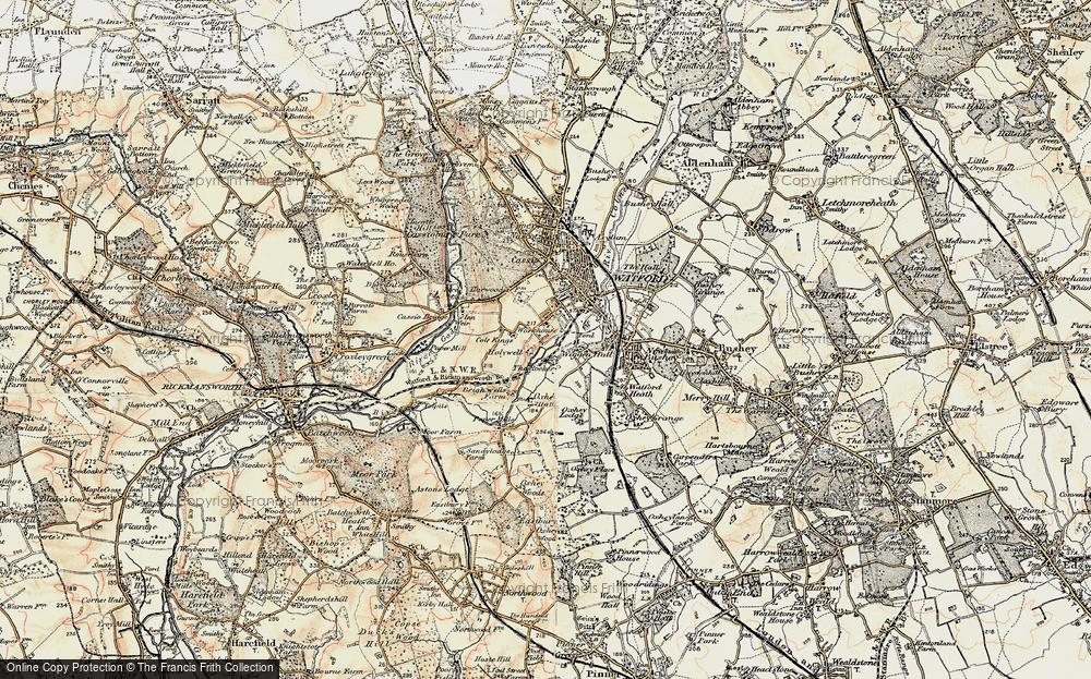 West Watford, 1897-1898