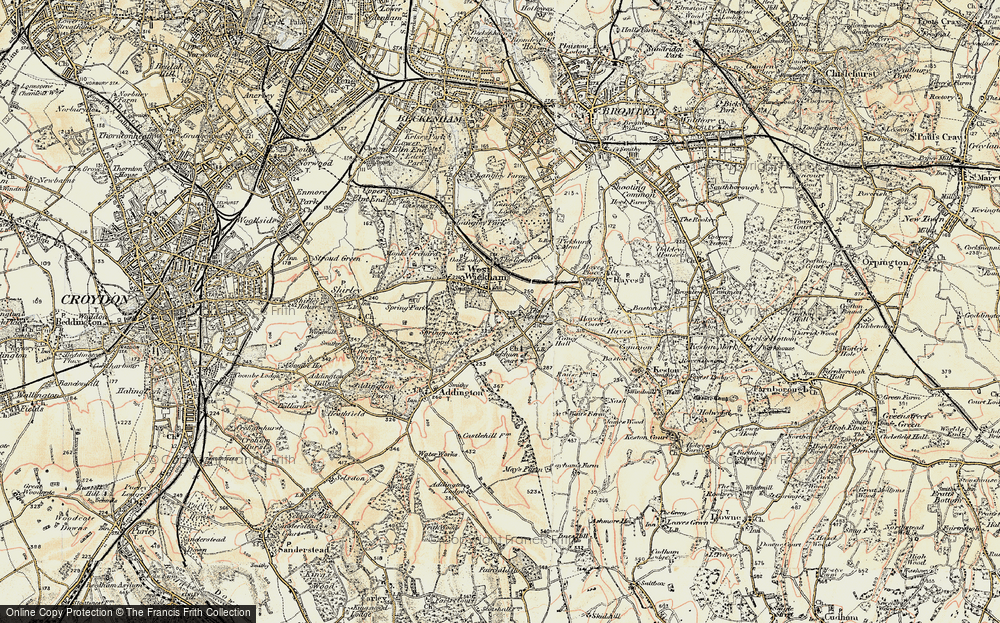 West Wickham, 1897-1902