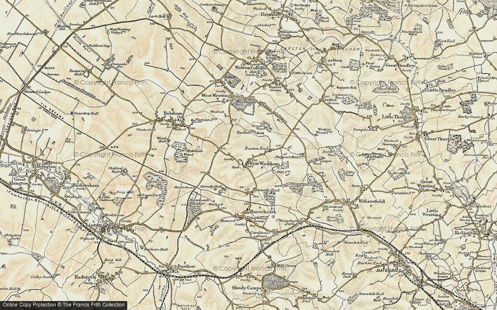 West Wickham, 1899-1901