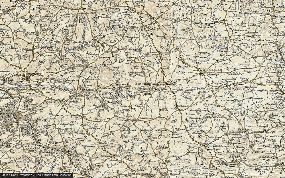 West Worlington, 1899-1900