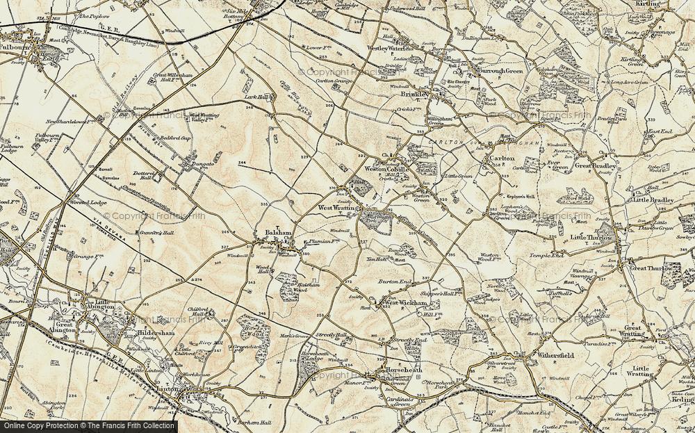 West Wratting, 1899-1901