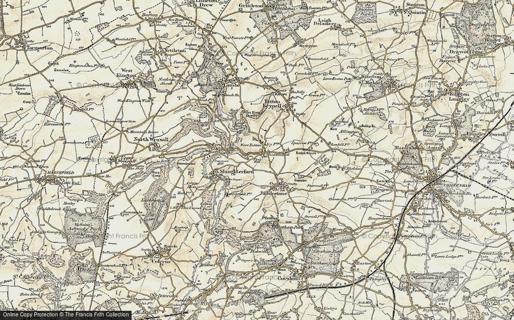West Yatton, 1898-1899