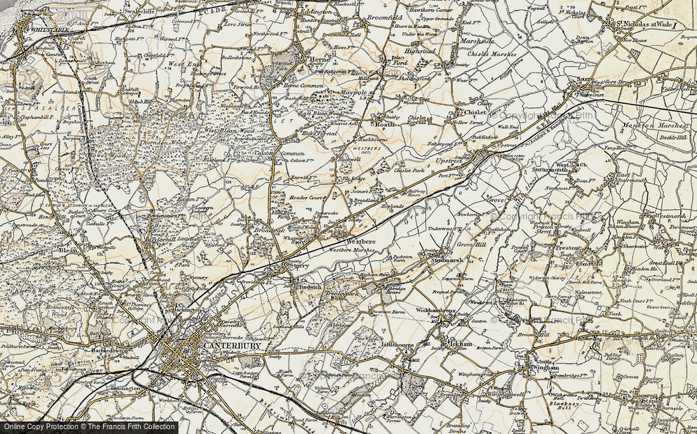Westbere, 1898-1899