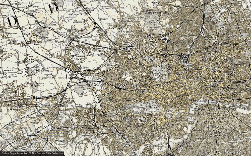 Westbourne Green, 1897-1909