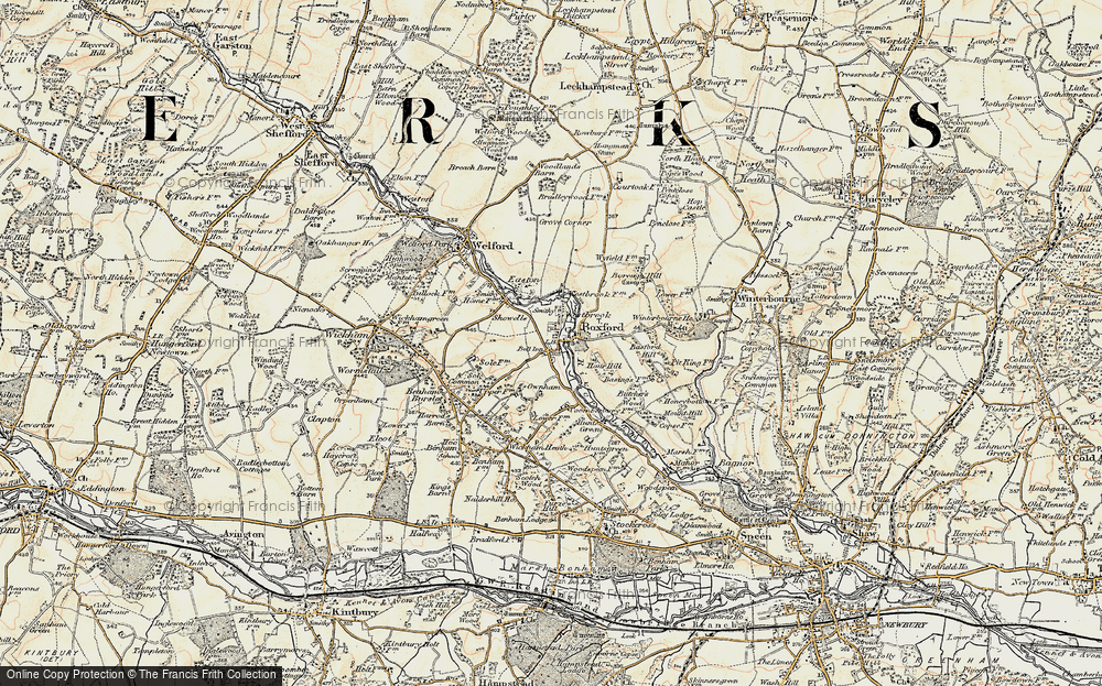 Old Map of Westbrook, 1897-1900 in 1897-1900