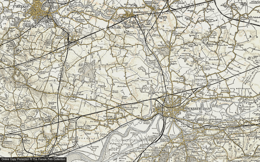 Old Map of Westbrook, 1903 in 1903