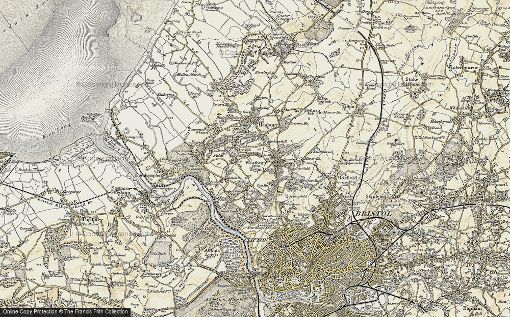 Westbury on Trym, 1899
