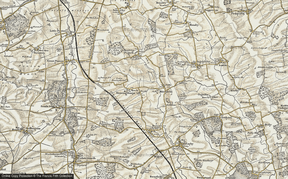 Old Map of Westby, 1902-1903 in 1902-1903