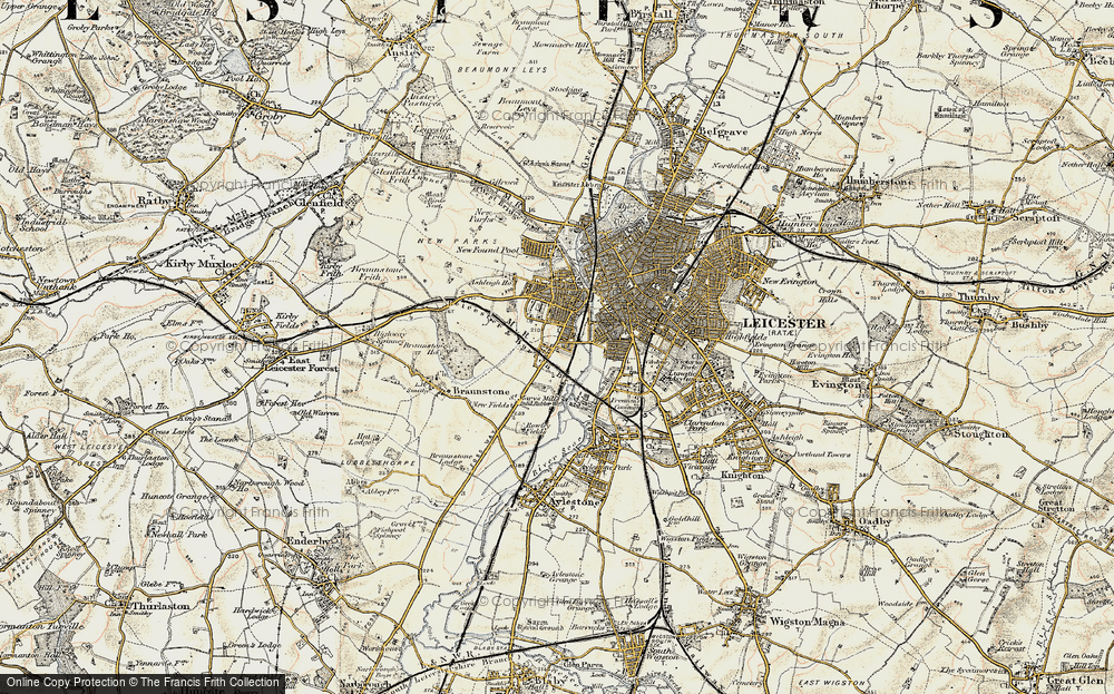 Westcotes, 1901-1903