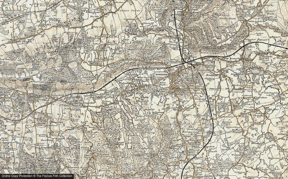 Westcott, 1898-1909