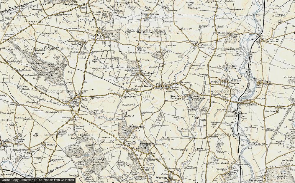 Westcott Barton, 1898-1899