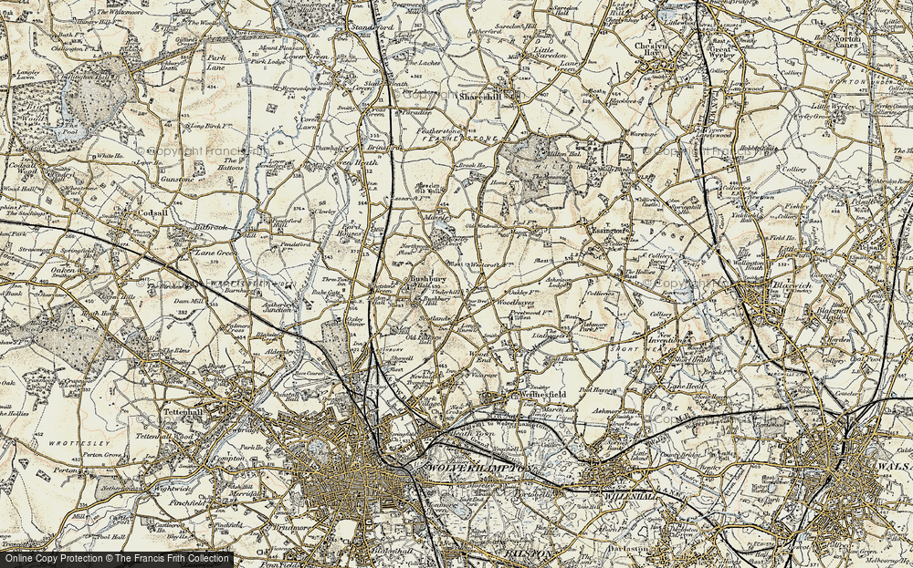 Old Map of Westcroft, 1902 in 1902