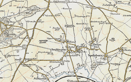 Old map of Westend in 1898-1899