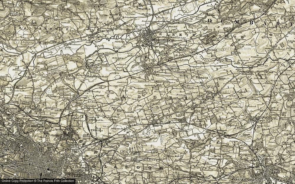 Wester Auchinloch, 1904-1905