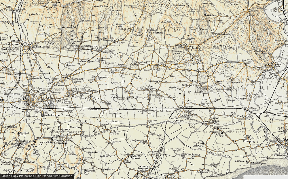Westergate, 1897-1899