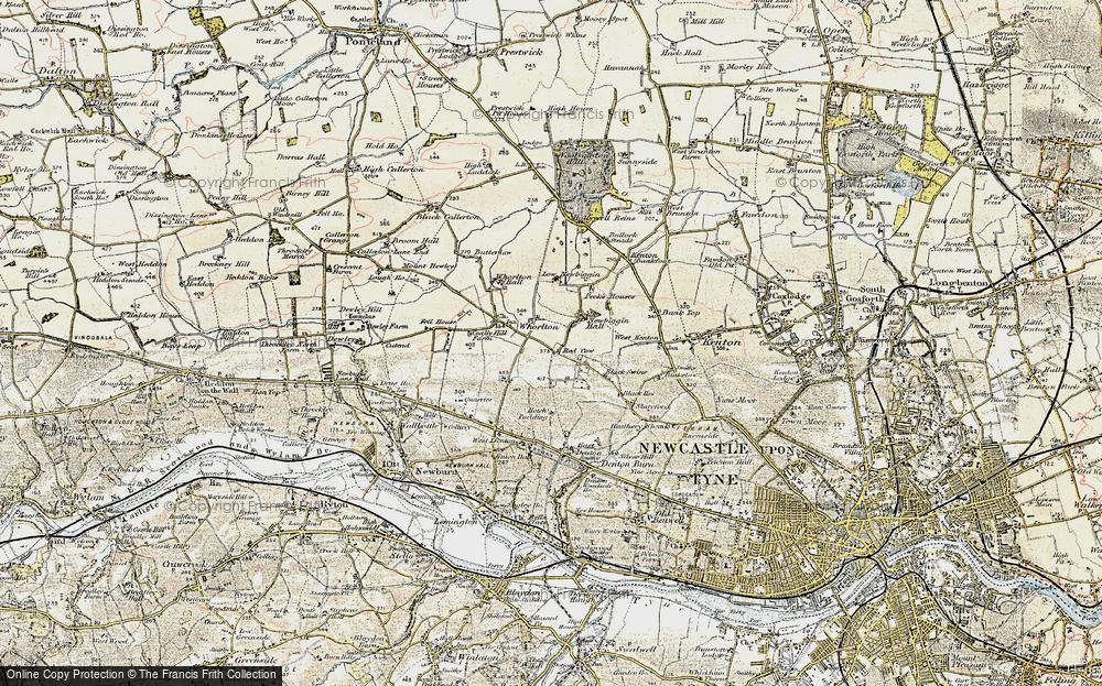 Westerhope, 1901-1903