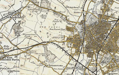 Old map of Western Park in 1901-1903