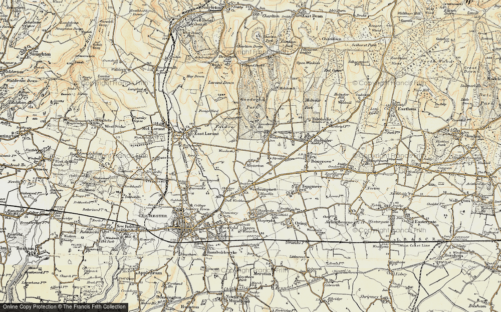 Old Map of Westerton, 1897-1899 in 1897-1899