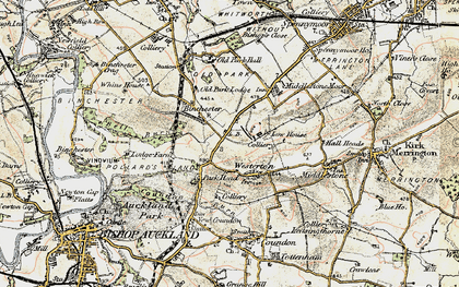 Old map of Westerton in 1903-1904