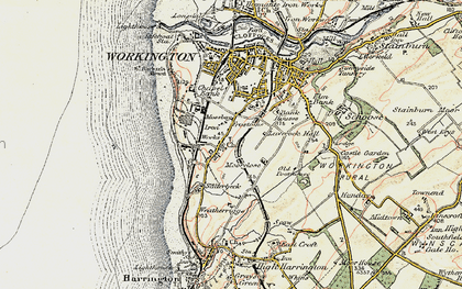 Old map of Westfield in 1901-1904