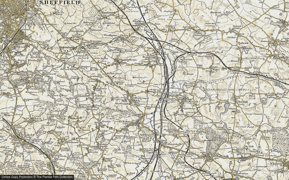 Old Map of Westfield, 1902-1903 in 1902-1903