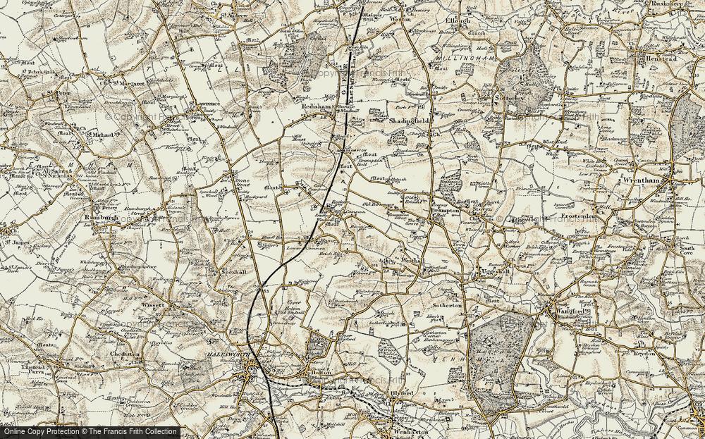 Westhall, 1901-1902