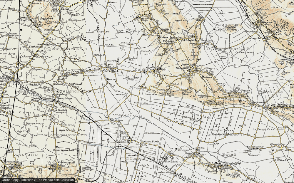 Old Map of Westham, 1899-1900 in 1899-1900