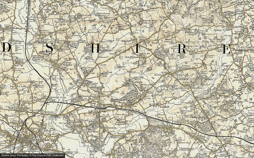 Westhide, 1899-1901