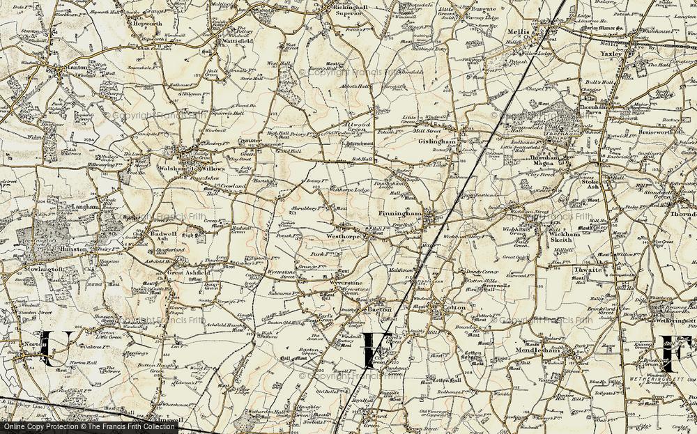 Westhorpe, 1901