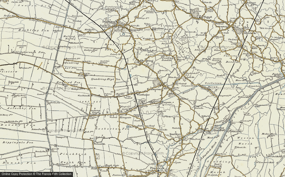 Westhorpe, 1902-1903