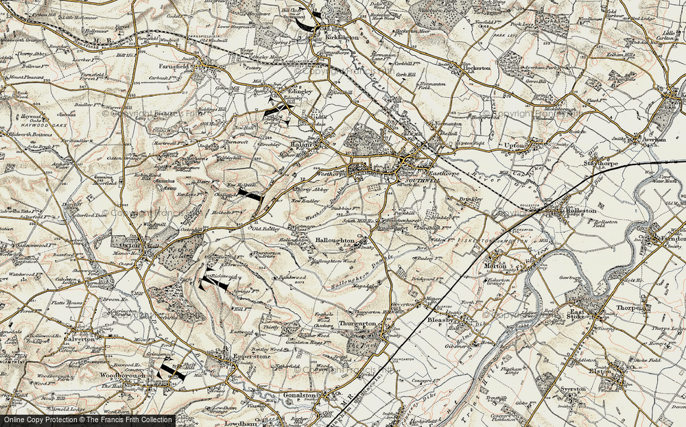 Westhorpe, 1902