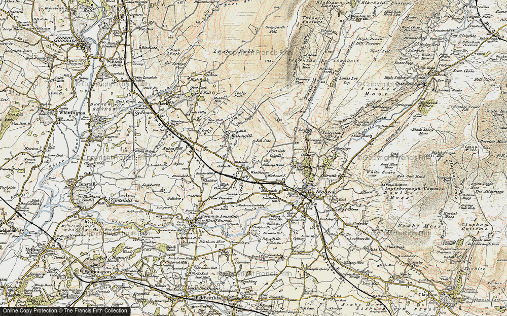Old Map of Westhouse, 1903-1904 in 1903-1904