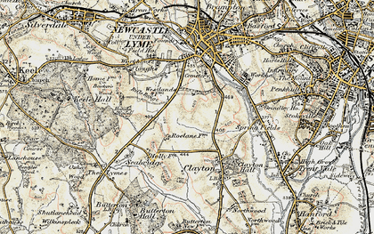 Old map of Westlands in 1902