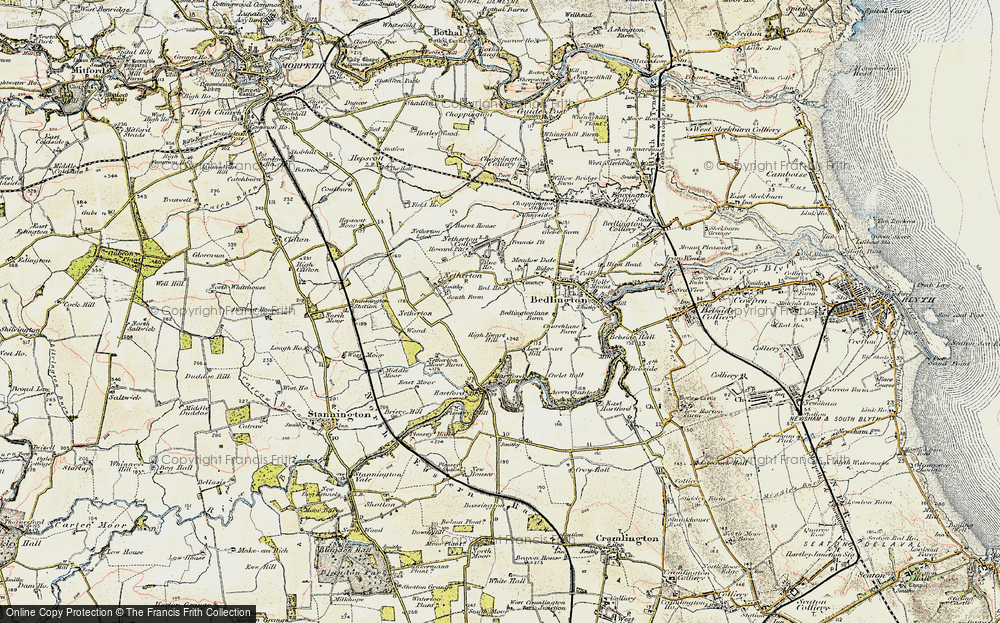 Old Map of Westlea, 1901-1903 in 1901-1903