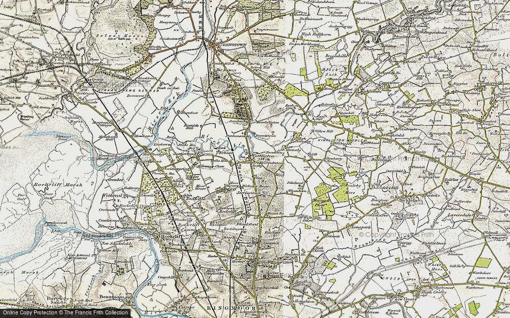 Westlinton, 1901-1904