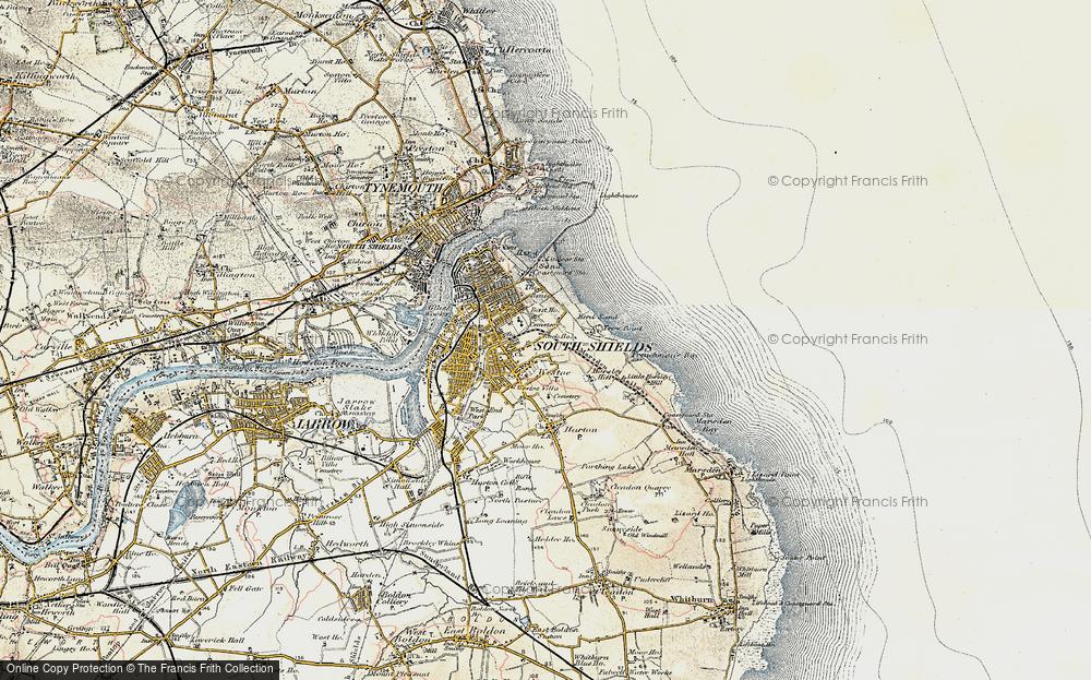 Westoe, 1901-1903